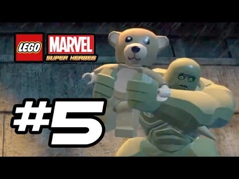 LEGO Marvel Super Heroes Gameplay Walkthrough - Part 5 - SCARIEST MOMENT! - (Lego Gameplay HD)