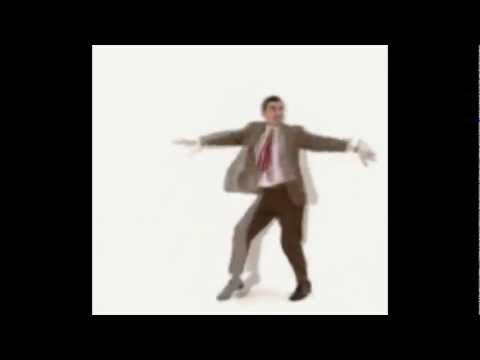 Mr Bean dançando o sucesso Gummy Bear