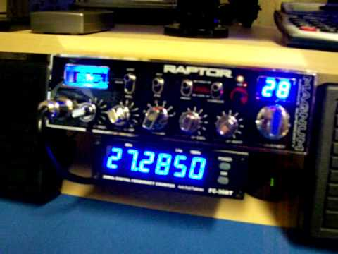 Magnum Raptor 10 Meter AM/FM Mobile Amateur Radio!