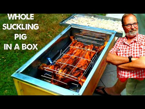 La Caja Asadora. La Caja China. Cuban Pig Roaster home video