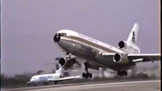 Rare Mexicana McDonnell Douglas DC-10-15 Departing LAX