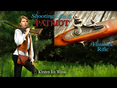 Shooting Like A PATRIOT -  Flintlocks & Freedom