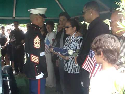 Cpl. Christian A. Guzman Rivera  (The flag belongs to mom)