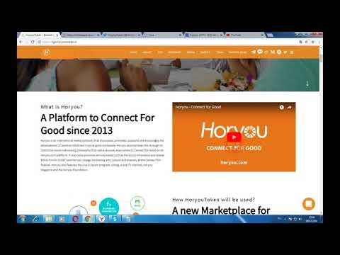 Horyou - платформа, позволяющая делиться идеями, вдохновляться и помогать друг другу