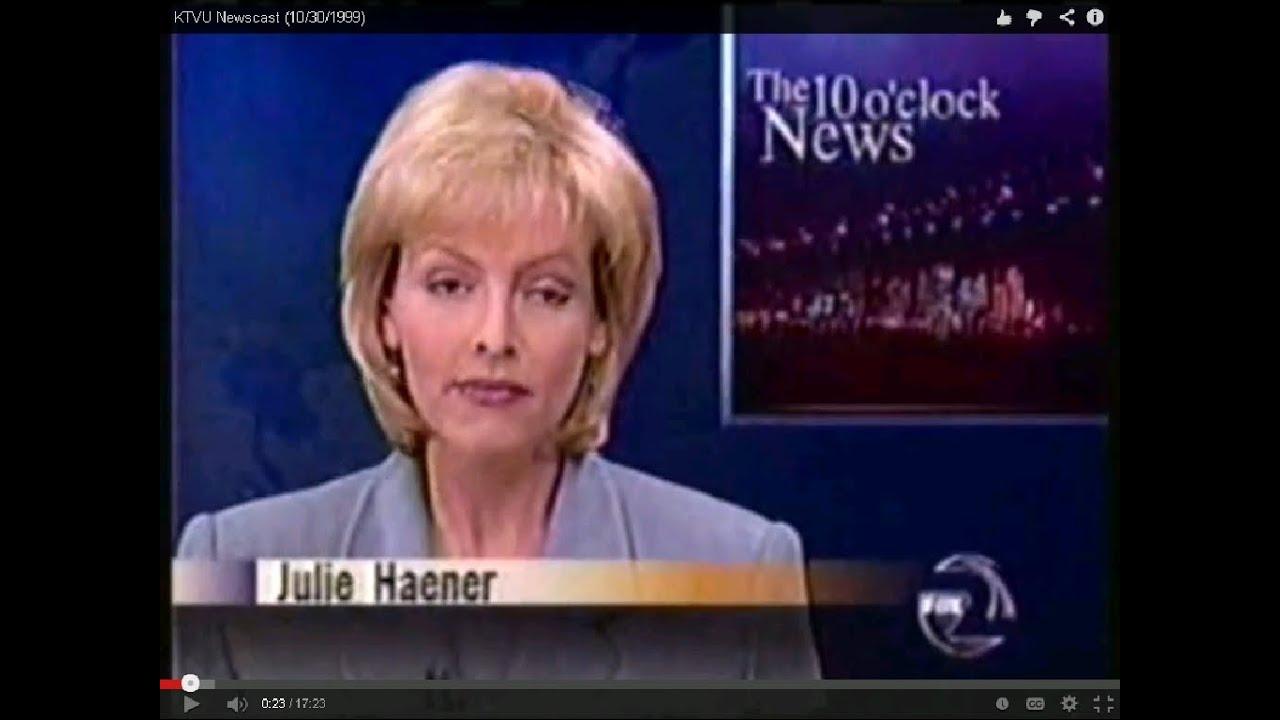 Ktvu 10 30 1999 julie haener partial 10pm newscast fox 2 san