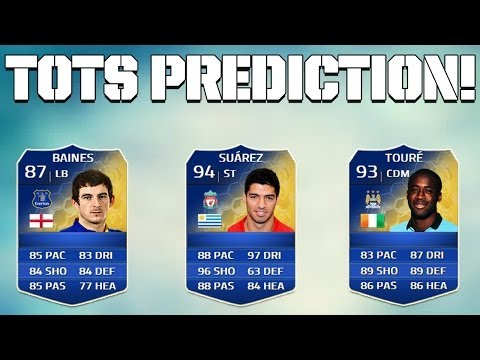 FIFA 14 - TOTS PREDICTION!