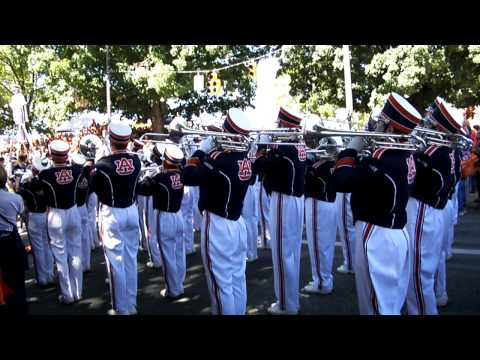 Spirit March before Auburn Vs Arkansas 2010