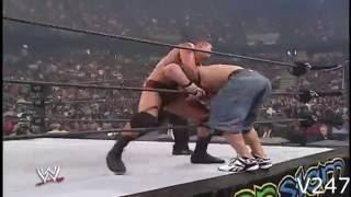 John Cena vs Randy Orton SummerSlam 2007 Highlights