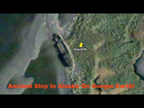 UFO Researcher Finds Ancient Ship In Alaska, July 2015, UFO Sighting News.