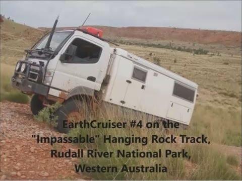 EC4 tackles Hangingrock track, Rudall R NP WA 2013