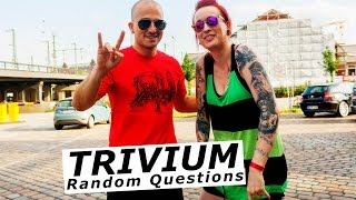 TRIVIUM Random Questions with Paolo Gregoletto at Beastfest | www.pitcam.tv
