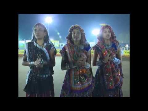 Live Gandhinagar Cultural Forum Navli Navratri Garba 2014 Amit...