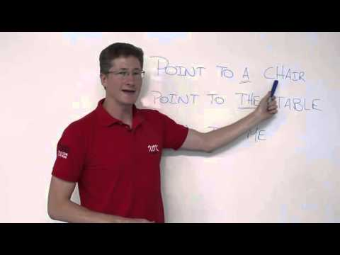 How To Use Definite And Indefinite Articles A - AN - THE In English