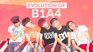 THE EVOLUTION OF B1A4 - DISCOGRAPHY (2011-2017)