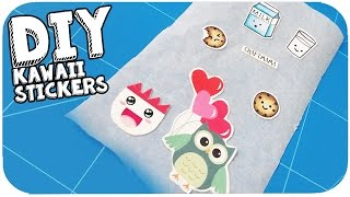 DIY Kawaii Stickers | Back to School Collab met Lalaliesje en Elisedingen!