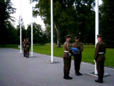 МЕГАПРИКОЛ почетный КАРАУЛ у президентского дворца в Таллине