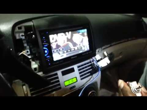 how to install parking bypass on Pioneer avh x3500