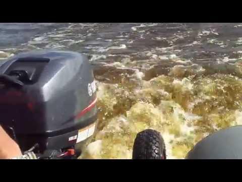как раздушить лодочный мотор hidea 9.9 видео