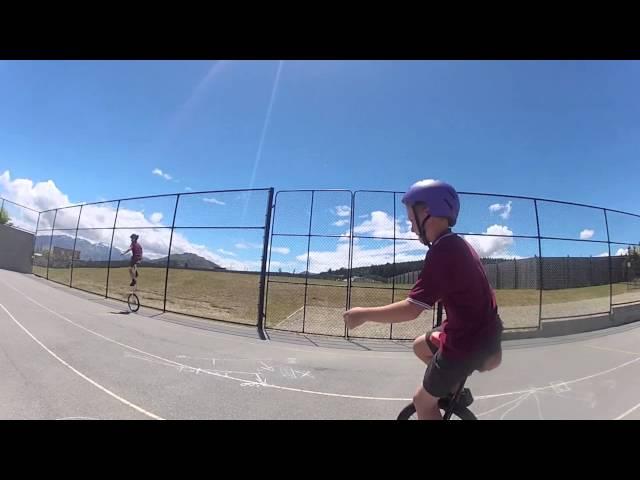 Wanaka unicycle video