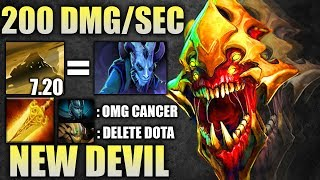 NEW EBOLA 200 DPS AoE Sand King 7.20 Crazy Fun Carry EPIC Dota 2 Gameplay