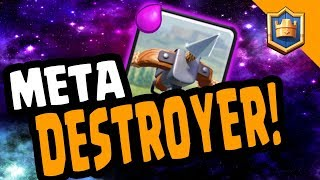 META DESTROYER! 2.9 XBOW CYCLE - MAXED LADDER - Clash Royale