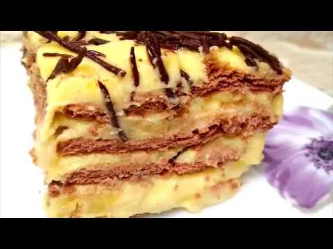 Бесподобно Вкусный Торт БЕЗ Выпечки, Просто ТАЕТ во Рту. Cake Without Baking