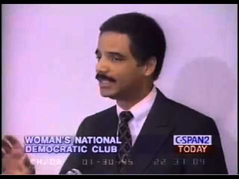 "Eric Holder - We Must ""Brainwash"" People Against Guns! - (1995)"