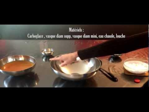 Carboglace dans un cocktail par nant effect