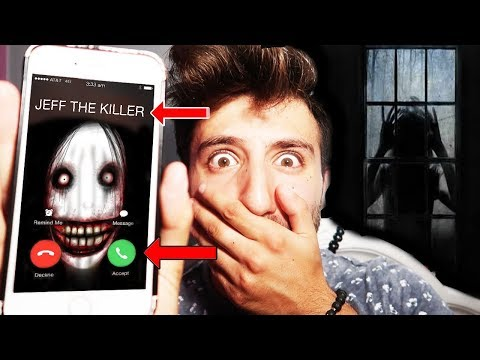 (KAZZY RESPONSE) CALLING JEFF THE KILLER ON FACETIME AT 3 AM | JEFF THE KILLER CAME TO MY HOUSE!