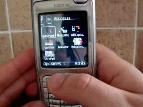 Nokia N70 (Theme Iphone)