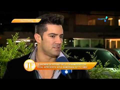 TV Fama: Ex de Aryane engata namoro com 'sósia' da loira