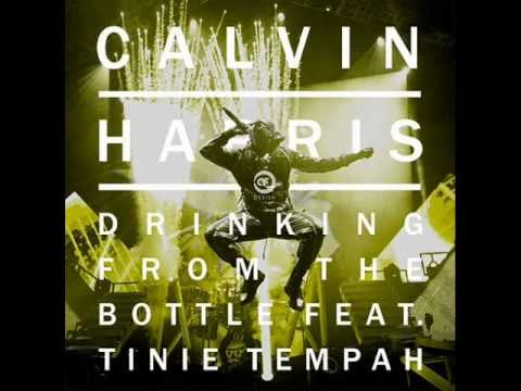 Calvin Harris Ft. Tinie Tempah - Drinking From The Bottle (Lyrics)