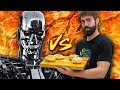 Who can cook faster?! Man vs Machine