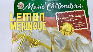 Marie Callender's Frozen Lemon Meringue Pie Review