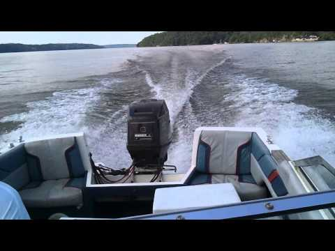 1986 bayliner capri 1600 with 85 hp force 15 prop