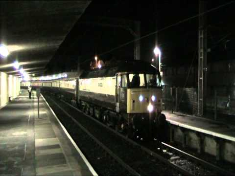 47832 filmed at Carnforth railway station while working 1Z59 Northern Belle Crewe to Crewe via Barrow on 4th of November. The train stopped at Canforth for a...