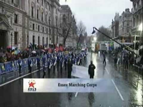 Essex Marching Corps, London New Year's Day Parade 2014