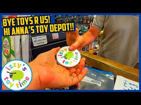 TOY STORE TRIP! Goodbye Toys R Us! Hello Anna's Toy Depot! Fun Toys for Kids with Thomas and LEGO!