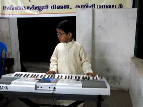 padmesh playing Kurai Ondrum illai - ms subbulakshmi songs  -...
