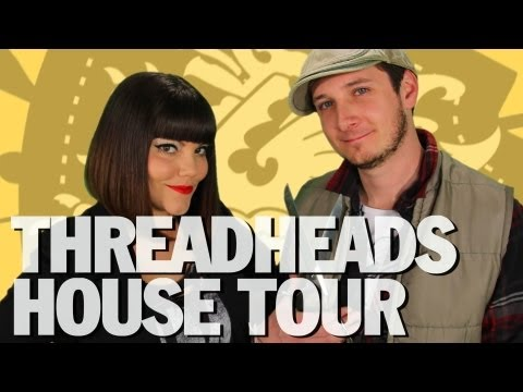 Rob and Corinne House Tour, Mark Montano DIY, GIVEAWAY, ThreadBanger