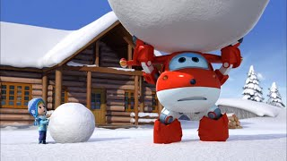 Супер крылья - Джетт и его друзья - Снежный день - Самолеты-трансформеры - Серия 43
