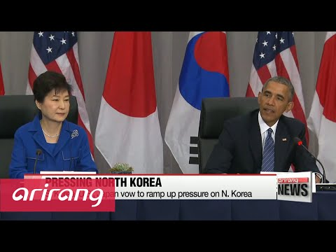 President Park wins credit for leading efforts to denuclearize N. Korea
