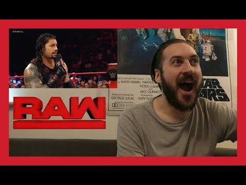 REACTION: ROMAN REIGNS & JOHN CENA CONTRACT SIGNING (WWE RAW 8/28/17)