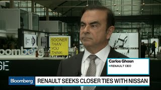 Ghosn Says Electric Car Sales Are Driven by Regulation