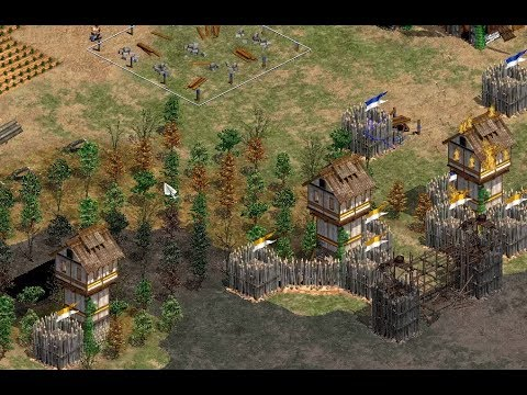 Korean Towers vs Briton Longbows | TheViper vs Daut