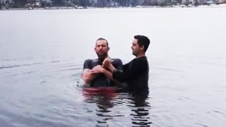 Bachelor Party Baptism!?