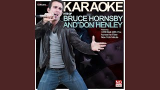 Last Worthless Evening (In the Style of Don Henley) (Karaoke Version)