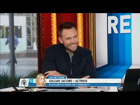 Actress Gillian Jacobs Calls The RES (Joel McHale Guest Hosts) - 11/7/14