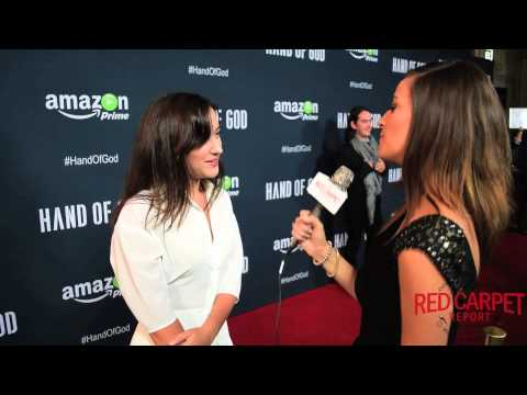 "Zelda WIlliams at the Premiere of Amazon's ""Hand of God"" #HandofGod #AmazonPrime"