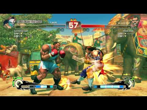 It continues Super Street Fighter IV w/xcal part 4